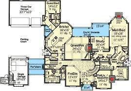 three home plans home plan with three staircases 48266fm architectural