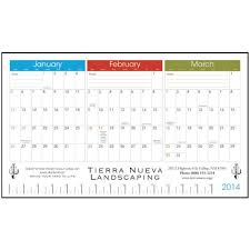 desk pad calendar 2017 3 month view desk pad calendar month to view desk calendar arends