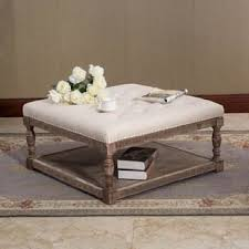 Tufted Ottoman Coffee Table Ottomans Storage Ottomans For Less Overstock