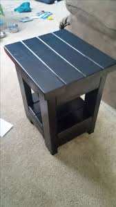 Patio End Table Plans Free by Best 25 Outdoor Side Table Ideas On Pinterest Easy Patio