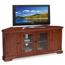 tv stands for 55 inch flat screens amazon com leick westwood corner tv stand 60 inch cherry