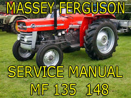 massey ferguson mf 135 u0026 mf148 service manual u0026 perkins for sale