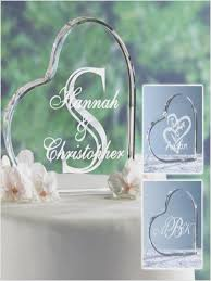glass wedding cake toppers personalized glass wedding cake toppers weddingcakeideas us