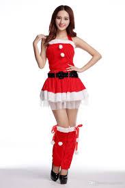 santa claus costumes tunic dress