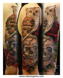 japan owl tattoo pictures to pin on pinterest tattooskid
