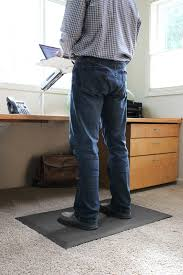smartcells standing desk mats are ergonomically designed to cushion and return energy which reduces fatigue and