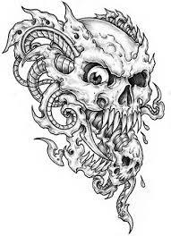 34 best all skull tattoo designs images on pinterest skulls