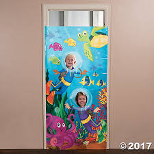 Under The Sea Centerpieces by Plastic Under The Sea Photo Door Banner Oriental Trading