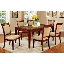 7 pc dining room set coconut shell insert 7 pc dining set modernmist limited