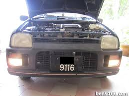 project kancil diy fog lamp installation car enthusiast car