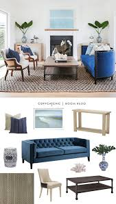 Glam Coffee Table by Copy Cat Chic Room Redo Coastal Glam Living Space Copycatchic