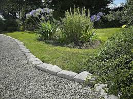 how install brick landscape edging to install a pea gravel