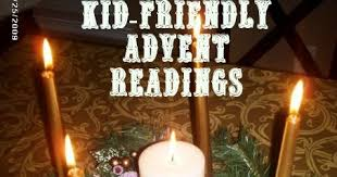 Advent Candle Lighting Readings Mommyjustine Kid Friendly Advent Readings