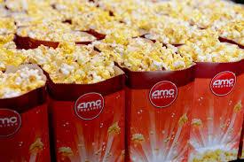 free large popcorn at amc theatres on sunday sun sentinel