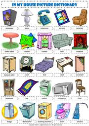 furniture esl printable worksheets and exercises