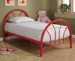 Bed Frame Metal Popular Twin Metal Bed Frame Modern Wall Sconces And Bed Ideas