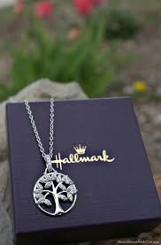 mothers day jewelry ideas tree of necklace from hallmarkjewelry gifts for