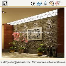 panneau relief mur belle en relief 3d panneau mural en bambou pour la maison