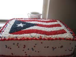Puertorican Flag Puerto Rico Flag Cake Cakecentral Com