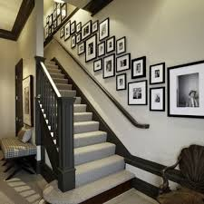 Decorate Stairway Wall Awesome Staircase Decorating Ideas Wall