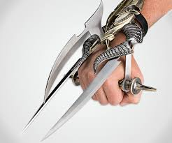 metal claws spiked tri blade claw dudeiwantthat