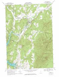 Washington State Mountains Map by Stowe Topographic Map Vt Usgs Topo Quad 44072d6