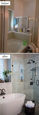 bathroom remodel ideas before and after best 25 small bathroom remodeling ideas on half
