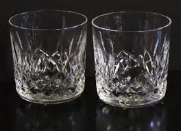 Schott Zwiesel Old Fashioned Glass Irish Waterford Crystal Lismore Pattern Old Fashioned Glass