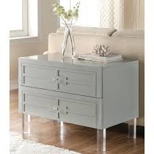 bedroom nightstand slim nightstand glass bedside table clear