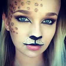 Halloween Cheetah Costumes 25 Leopard Halloween Makeup Ideas