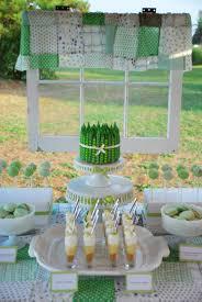 green summer dessert table pea pod cakecentral com
