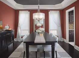 red dining room ideas intensely red dining room paint color