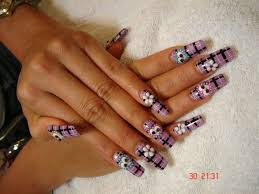 long acrylic nails by nailartmaria nail art gallery