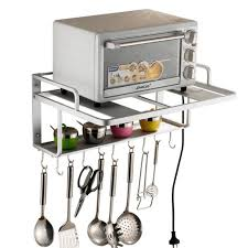 rangement dans la cuisine etagères de cuisine meuble rangement cuisine de service en métal