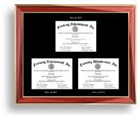 degree frames college diploma frame degree framing diploma frames by