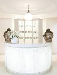 Salon Reception Desk White Salon Reception Desk Salon White Small Simple