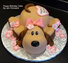 Hard Sugar Cake Decorations Dog Shaped Cake Ideas Dog Cake Decoration Cakes Pinterest