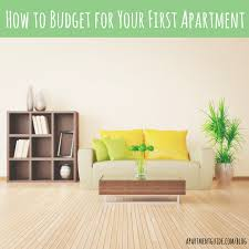 First Apartment by How To Budget For Your First Apartment Apartmentguide Com