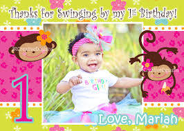birthday invitation cards for 1 year old free printable