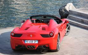 Ferrari 458 Italia Spider - first drive 2012 ferrari 458 spider automobile magazine