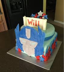 optimus prime cakes cake decorating an optimus prime cake out of fondant