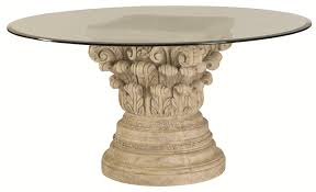Design Ideas Dining Table Pedestal Base Brockhurststudcom - Dining room table pedestals