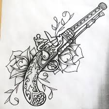 best 25 pistol tattoos ideas on pinterest pistol gun tattoos
