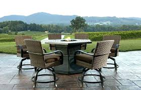 patio table fire pit patio furniture propane fire pit table