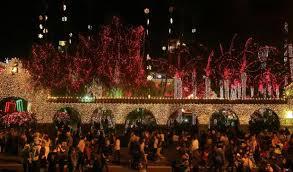 christmas lights riverside ca riverside timeline history of mission inn festival of lights
