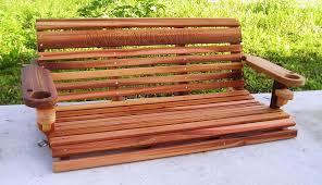 romantic cedar porch swing u2014 jbeedesigns outdoor