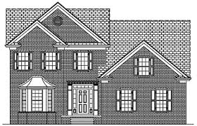 traditional two story house plans traditional house plans