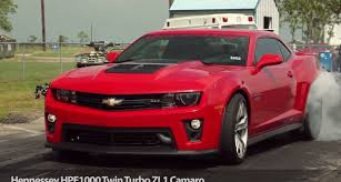 hennessy camaro hennessey turbo camaro zl1 hpe1000 quarter mile testing