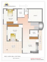 house plan drawing duplex house plan and elevation 2878 sq ft home india duplex