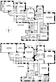 Biltmore Floor Plan Floorplan For 740 Park Avenue 12 13cd Location The Penthouse